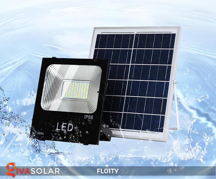 Đèn pha thông minh năng lượng mặt trời FL01TY 6