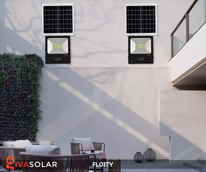 Đèn pha thông minh năng lượng mặt trời FL01TY 7