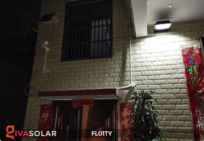 Đèn pha thông minh năng lượng mặt trời FL01TY 8