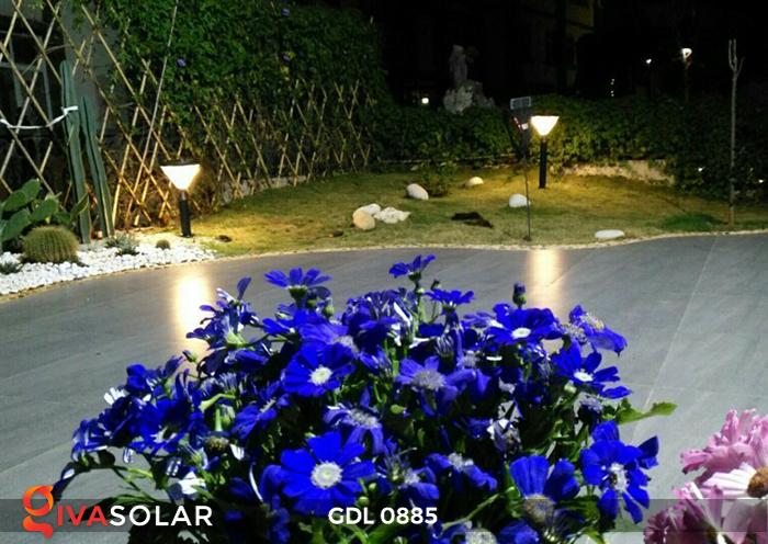 Đèn chiếu sáng sân vườn năng lượng mặt trời GDL0885 11