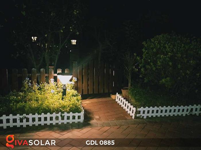 Đèn chiếu sáng sân vườn năng lượng mặt trời GDL0885 16