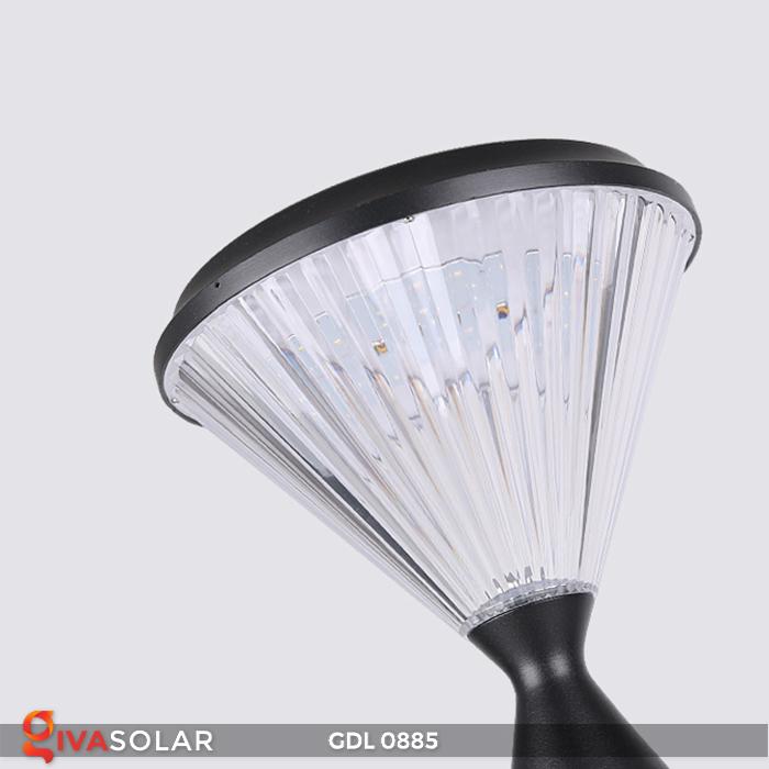 Đèn chiếu sáng sân vườn năng lượng mặt trời GDL0885 25
