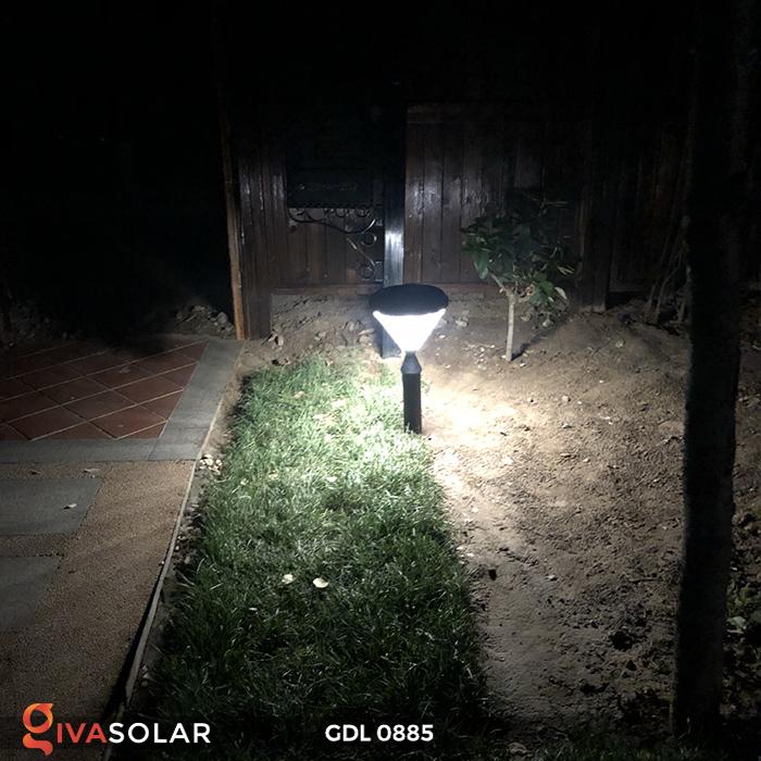 Đèn chiếu sáng sân vườn năng lượng mặt trời GDL0885 7