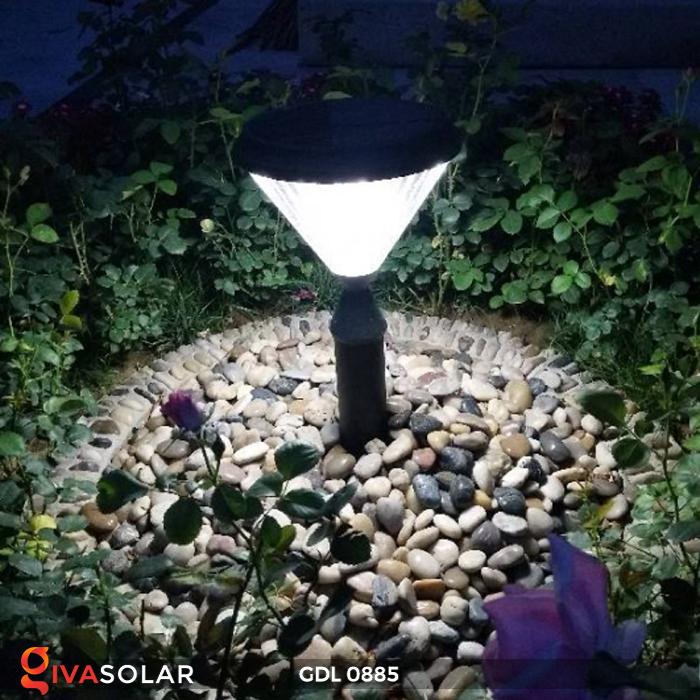 Đèn chiếu sáng sân vườn năng lượng mặt trời GDL0885 8
