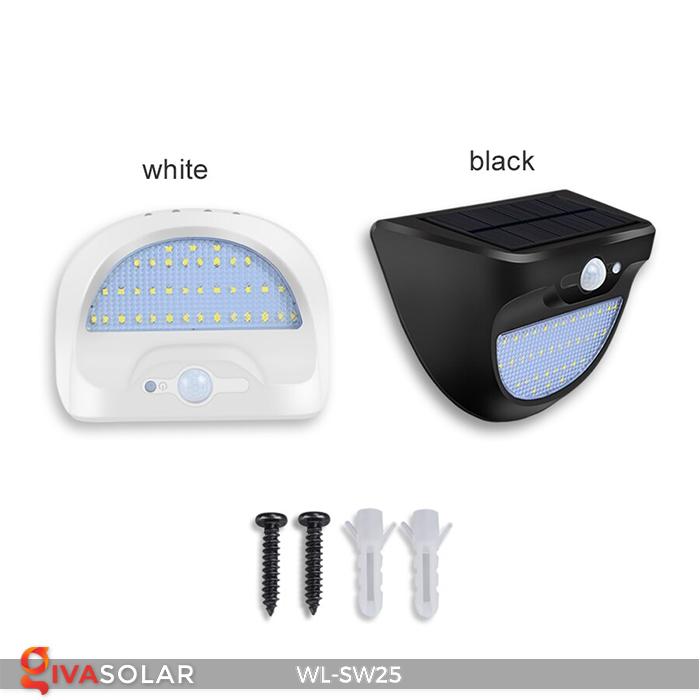Đèn treo tường năng lượng mặt trời WL-SW25 1