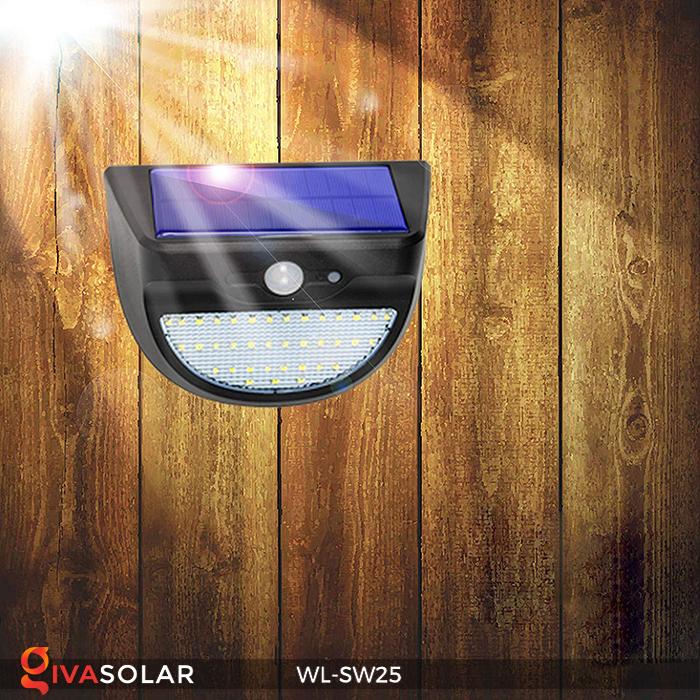 Đèn treo tường năng lượng mặt trời WL-SW25 11