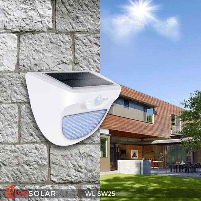 Đèn treo tường năng lượng mặt trời WL-SW25 16