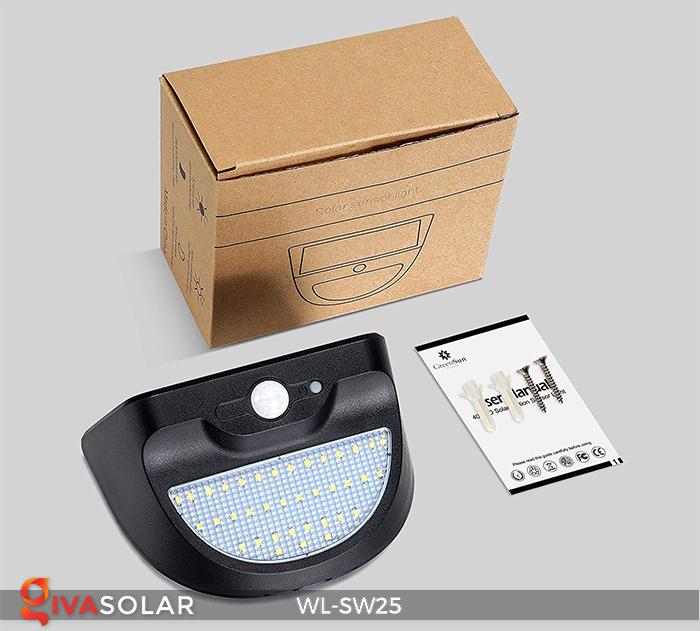 Đèn treo tường năng lượng mặt trời WL-SW25 18