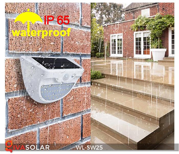 Đèn treo tường năng lượng mặt trời WL-SW25 7