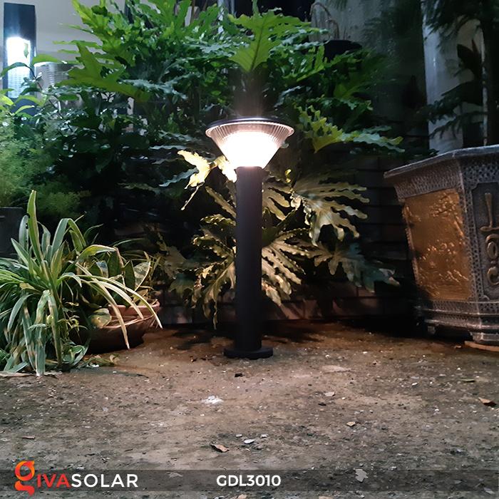 Đèn trụ năng lượng mặt trời chiếu sáng sân vườn GDL3010 12