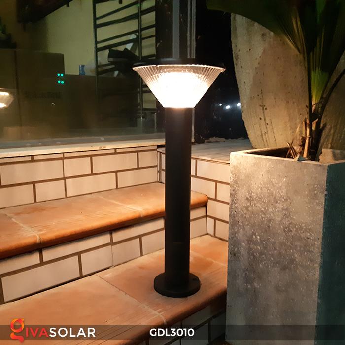 Đèn trụ năng lượng mặt trời chiếu sáng sân vườn GDL3010 4