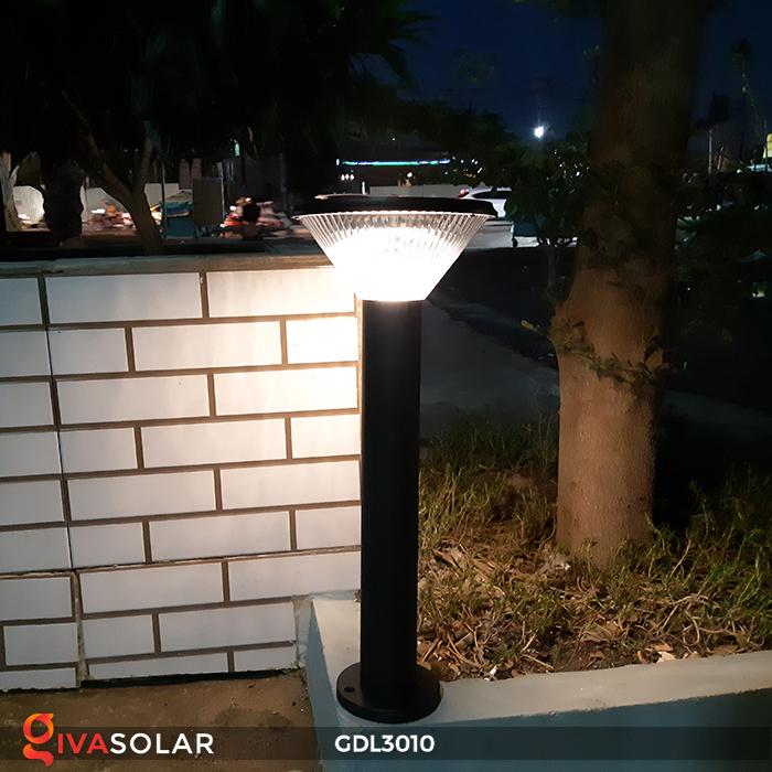 Đèn trụ năng lượng mặt trời chiếu sáng sân vườn GDL3010 6