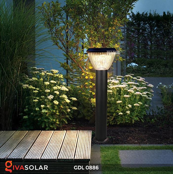 Đèn trụ lối đi năng lượng mặt trời GDL0886 10