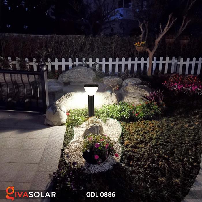 Đèn trụ lối đi năng lượng mặt trời GDL0886 11
