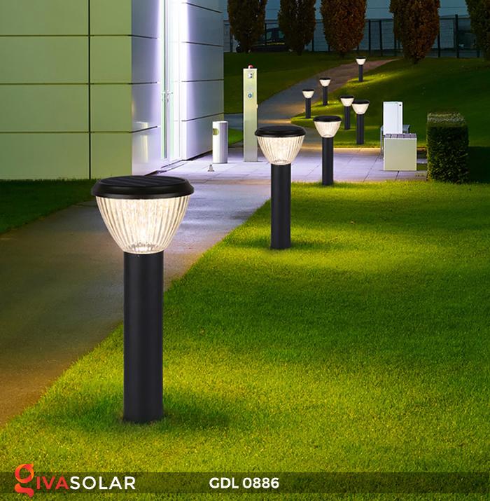 Đèn trụ lối đi năng lượng mặt trời GDL0886 12