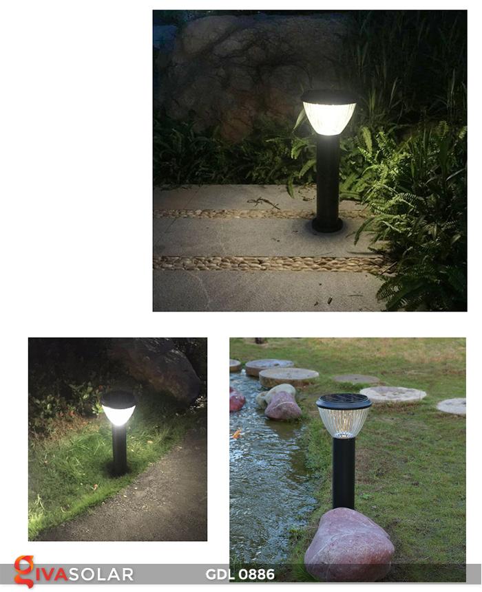 Đèn trụ lối đi năng lượng mặt trời GDL0886 13