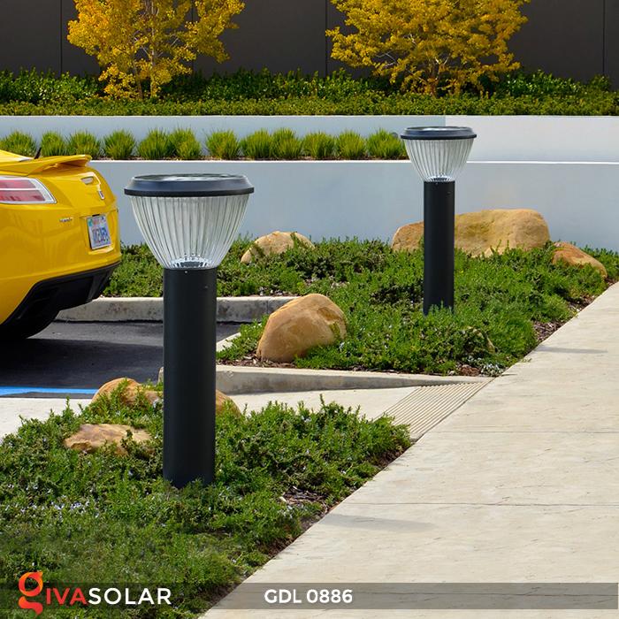 Đèn trụ lối đi năng lượng mặt trời GDL0886 15