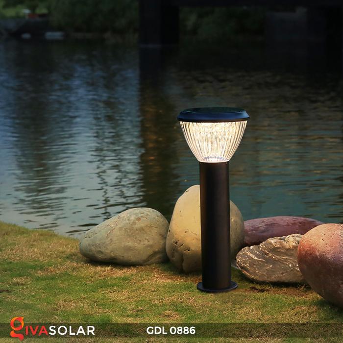 Đèn trụ lối đi năng lượng mặt trời GDL0886 4