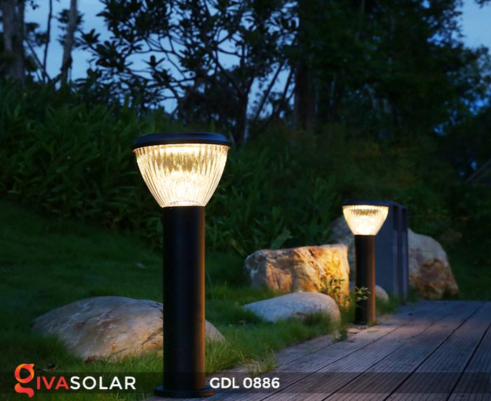 Đèn trụ lối đi năng lượng mặt trời GDL0886 6