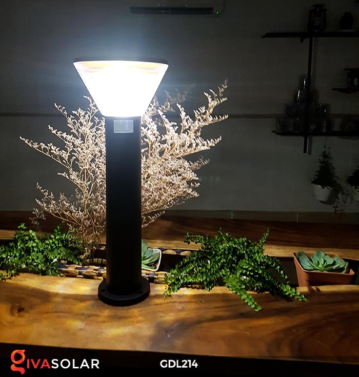 Đèn trụ sân vườn năng lượng mặt trời GDL214 6