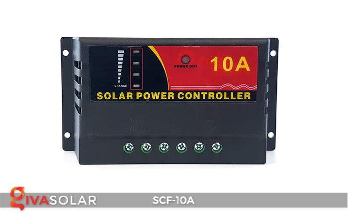 Điều khiển sạc năng lượng mặt trời SCF-10A 1