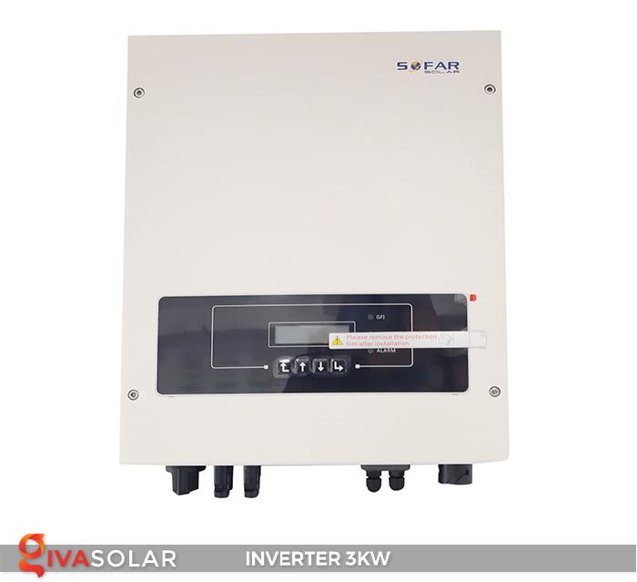 Inverter hòa lưới SOFAR SOLAR 3KW 1