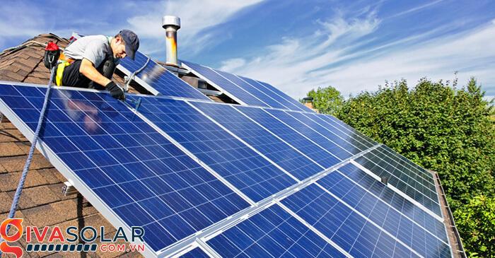 các bước để thực hiện lắp đặt hệ thống điện mặt trời 3
