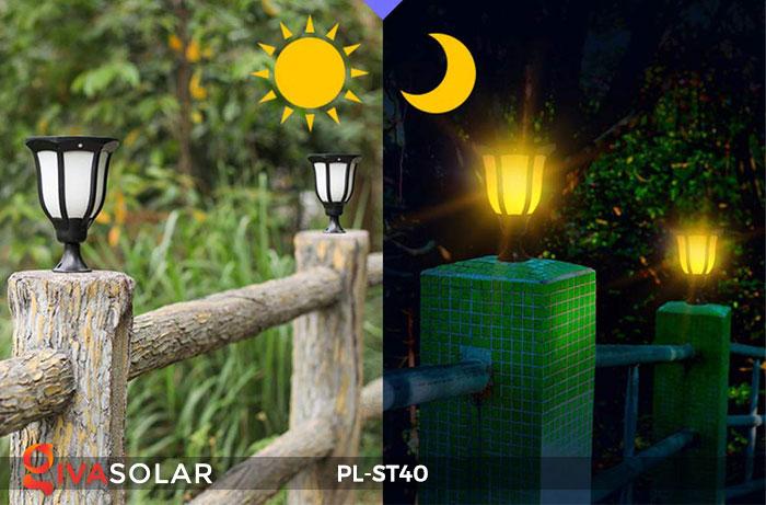 14 mẫu đèn năng lượng mặt trời trang trí sân vườn hot nhất năm 2019 3