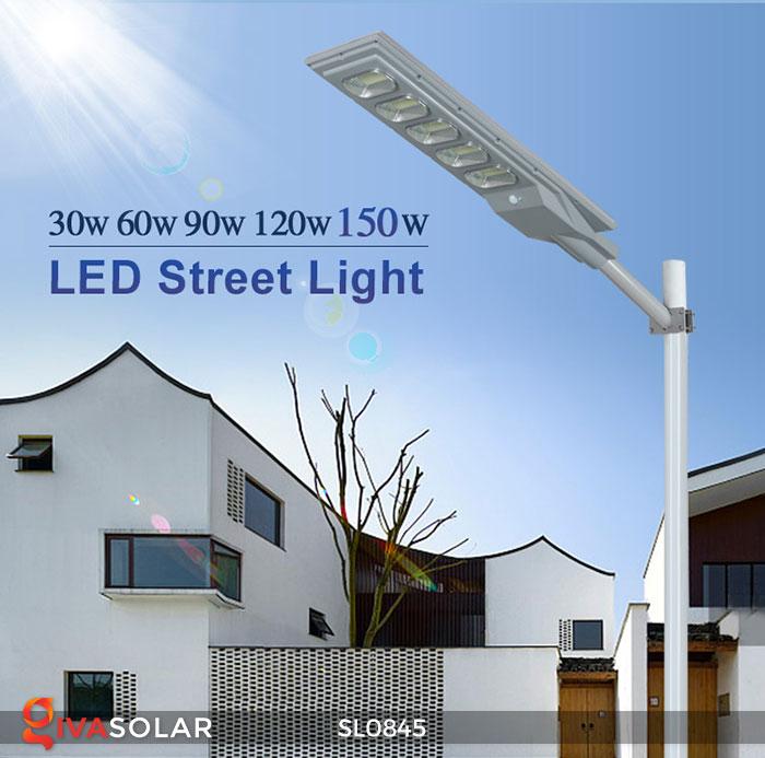 Đèn chiếu đường đi bằng năng lượng mặt trời SL0845