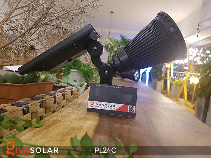 Đèn chiếu tiểu cảnh năng lượng mặt trời PL24C đổi màu 25