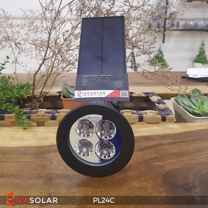 Đèn chiếu tiểu cảnh năng lượng mặt trời PL24C đổi màu 27