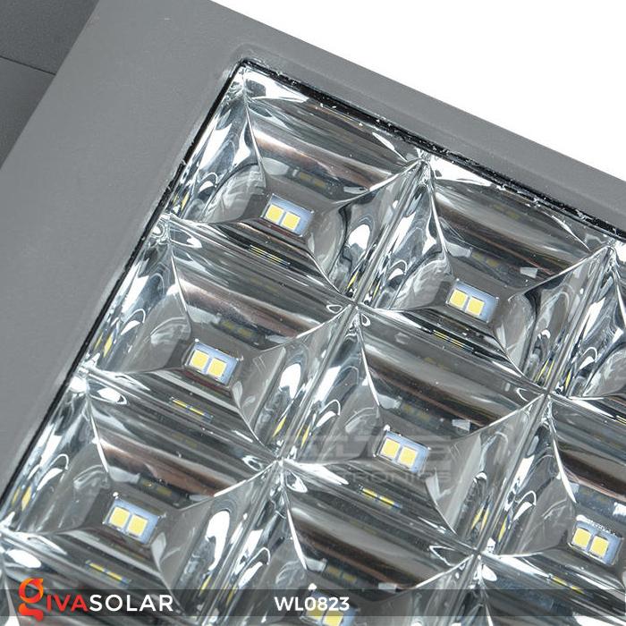 Đèn pha gắn tường năng lượng mặt trời WL0823 10