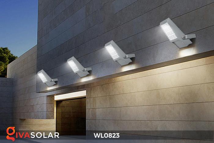 Đèn pha gắn tường năng lượng mặt trời WL0823 8