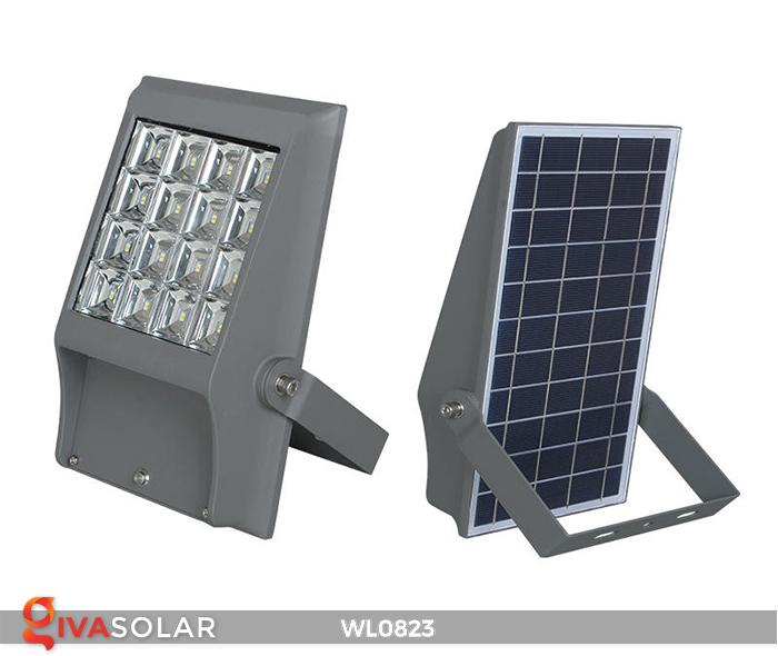 Đèn pha gắn tường năng lượng mặt trời WL0823 9