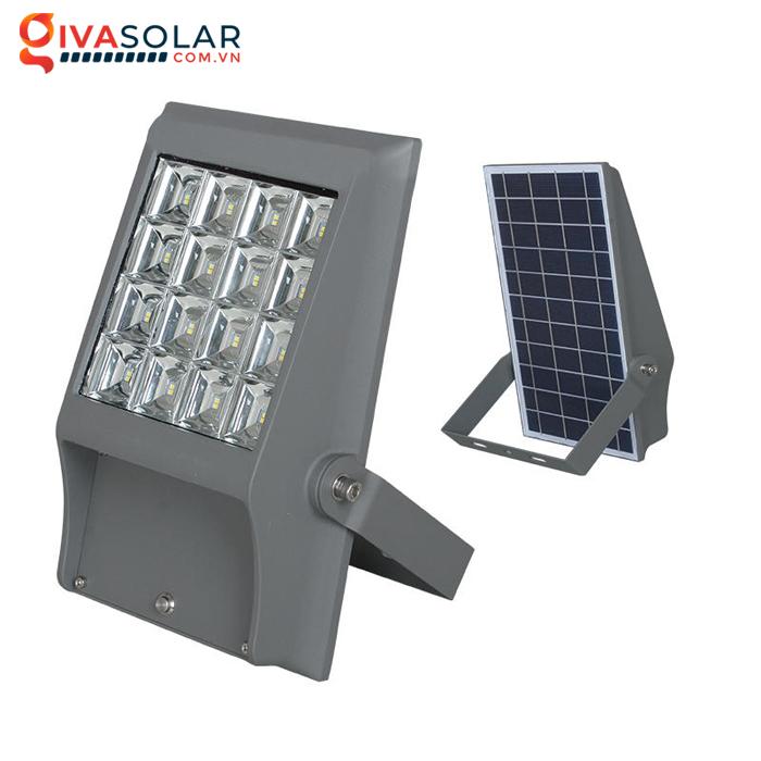 Đèn pha gắn tường năng lượng mặt trời WL0823