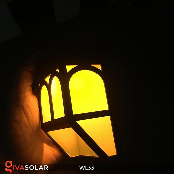 Đèn ốp tường chạy năng lượng mặt trời WL33 10