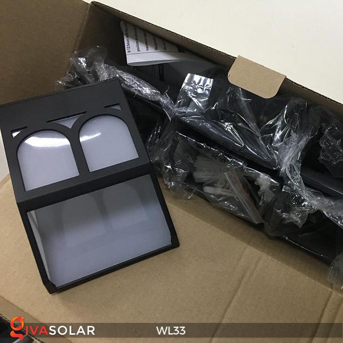 Đèn ốp tường chạy năng lượng mặt trời WL33 7