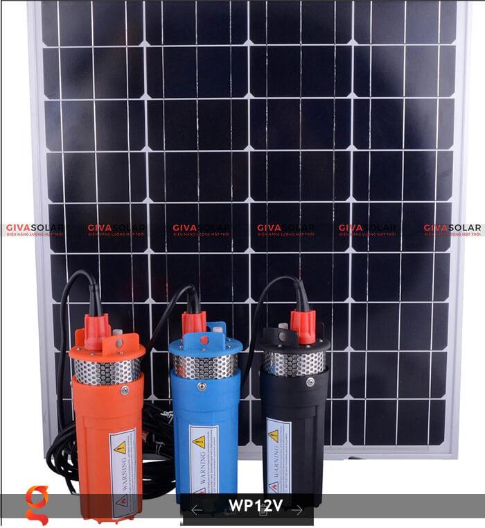 Máy bơm nước chạy năng lượng mặt trời WP12V 12