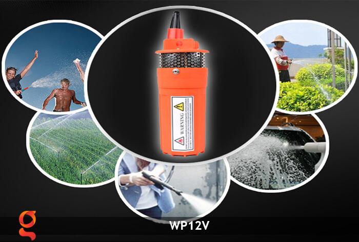 Máy bơm nước chạy năng lượng mặt trời WP12V 13