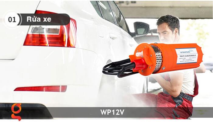 Máy bơm nước chạy năng lượng mặt trời WP12V 16