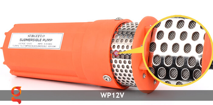 Máy bơm nước chạy năng lượng mặt trời WP12V 7