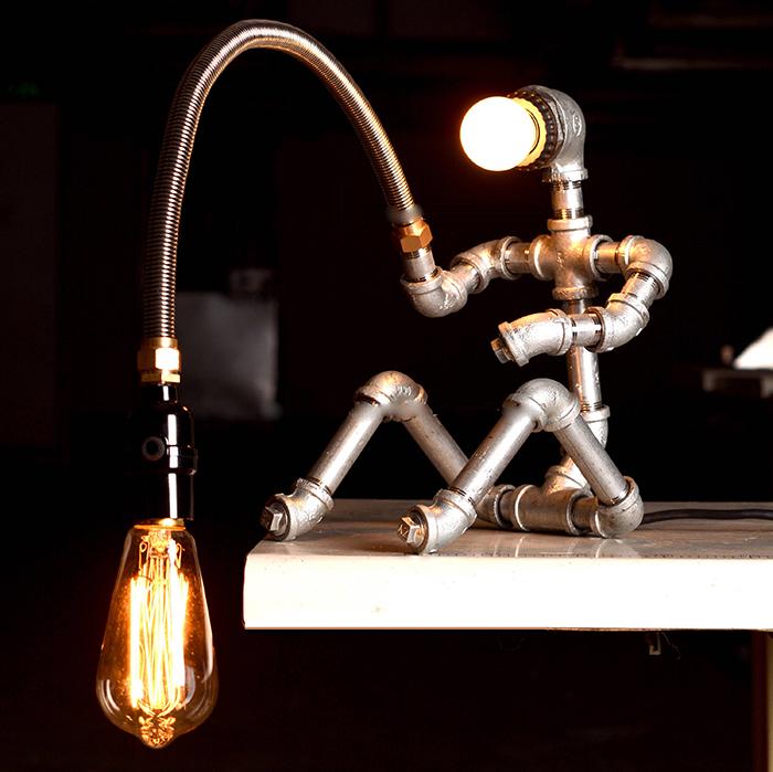 16 cách làm đèn trang trí handmade bằng các vật liệu công nghiệp cực đẹp 10