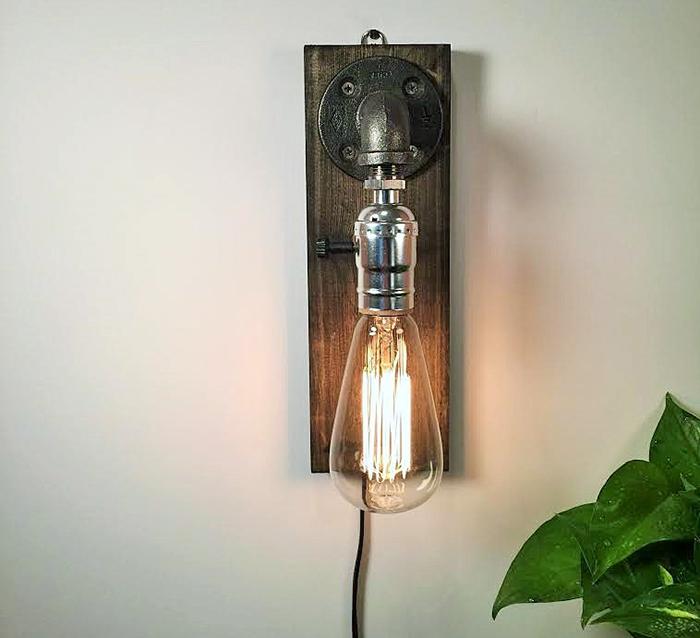 16 cách làm đèn trang trí handmade bằng các vật liệu công nghiệp cực đẹp 11