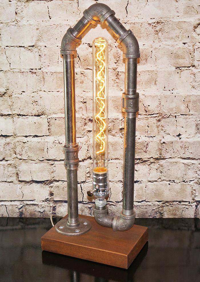 16 cách làm đèn trang trí handmade bằng các vật liệu công nghiệp cực đẹp 15