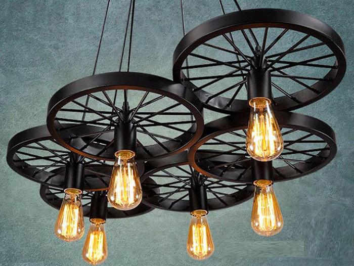 16 cách làm đèn trang trí handmade bằng các vật liệu công nghiệp cực đẹp 4