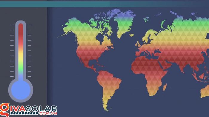 Bức xạ mặt trời là gì? Bản đồ bức xạ mặt trời tại Việt Nam 2