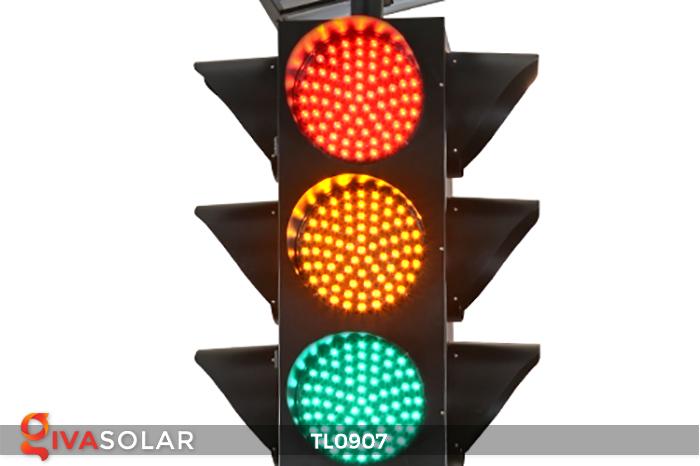 Cây đèn tín hiệu giao thông năng lượng mặt trời TL0907 14