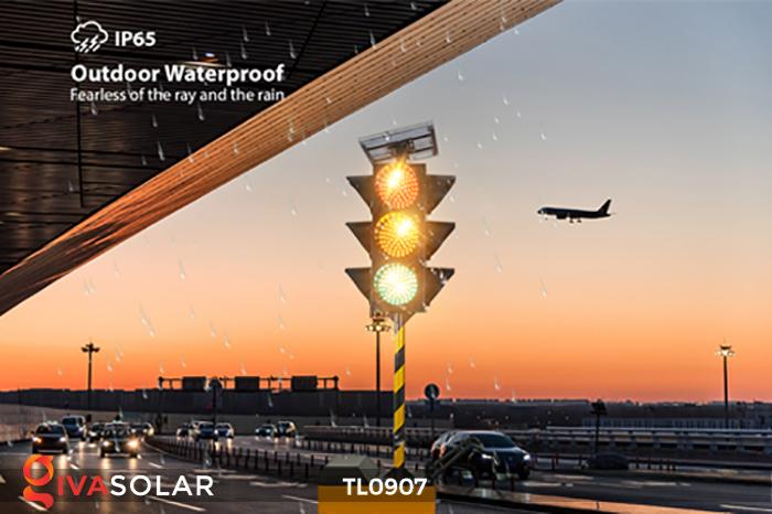 Cây đèn tín hiệu giao thông năng lượng mặt trời TL0907 4