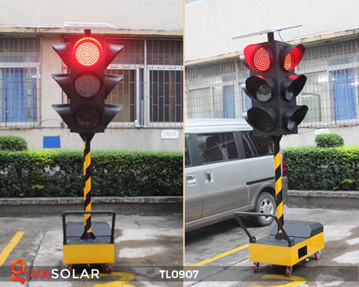Cây đèn tín hiệu giao thông năng lượng mặt trời TL0907 5