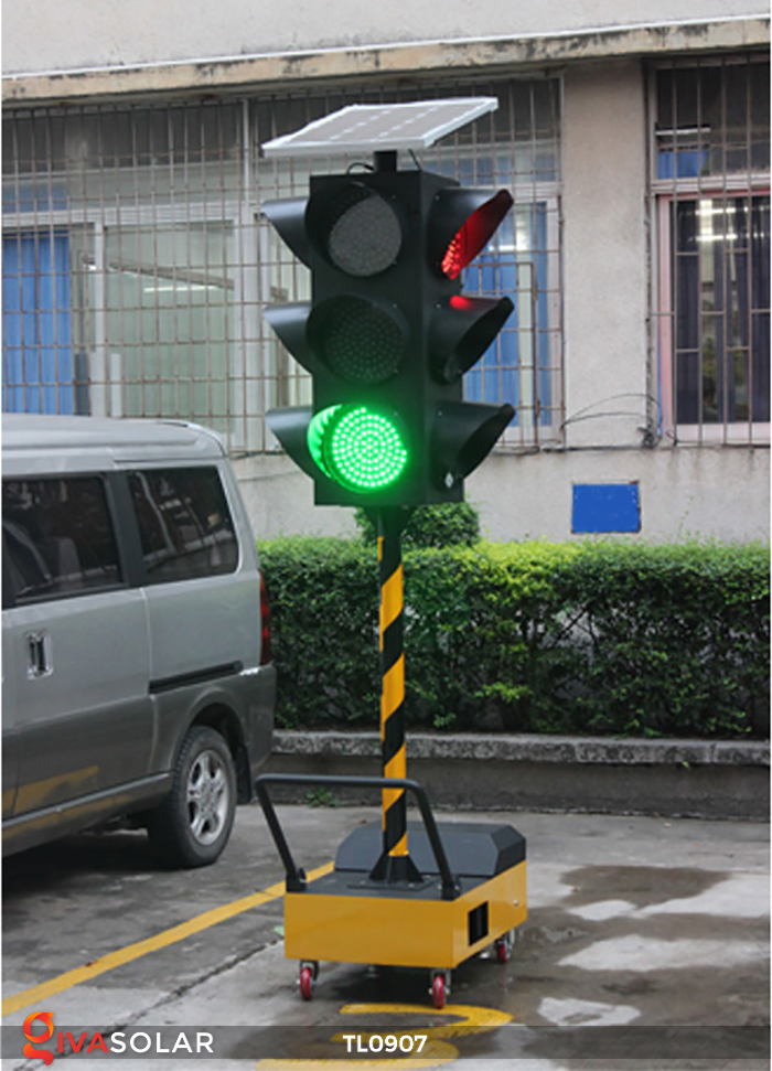 Cây đèn tín hiệu giao thông năng lượng mặt trời TL0907 6